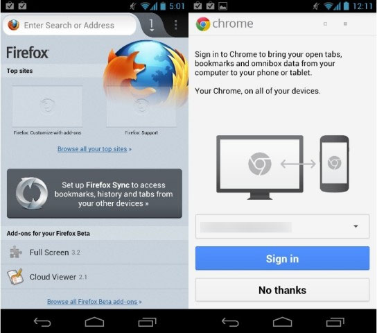Mozila Firefox Browser for Android