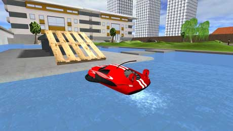 دانلود Hoverdroid 3D 1.3 بازی ماشین های پرنده اندروید