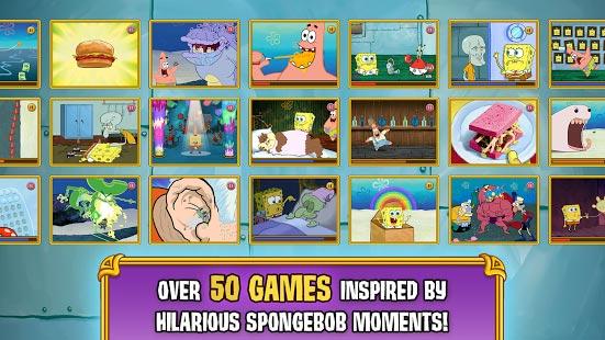 دیوانگی بازی های باب اسفنجی به همراه دیتا - SpongeBob's Game Frenzy اندروید