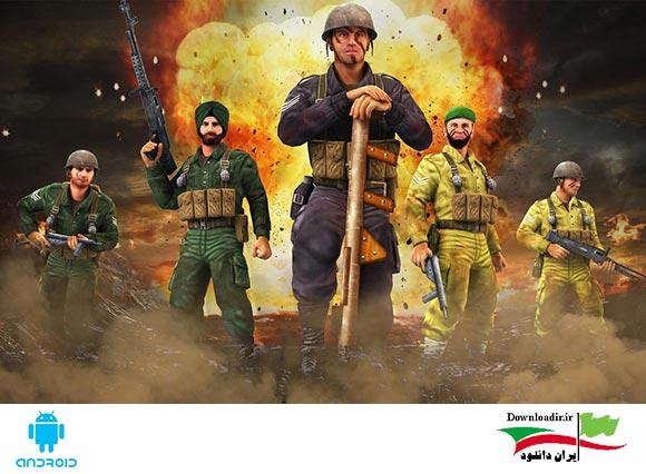 دانلود 1965 WAR: Indo-Pak Clash Alert - بازی نبرد 1965 برای اندروید