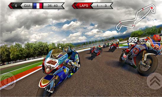 بازی محبوب مسابقات موتورسواری SBK15 Official Mobile برای ویندوز فون