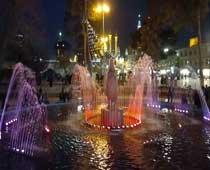 آبنمای هارمونیک پارک آستانه قم