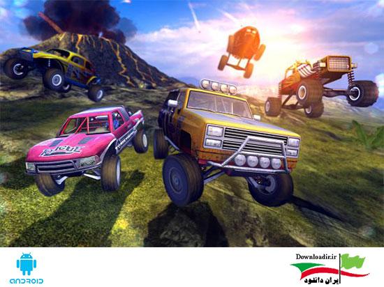 بازی مسابقات اتومبیلرانی آفرود ۴×۴ Jam HD اندروید