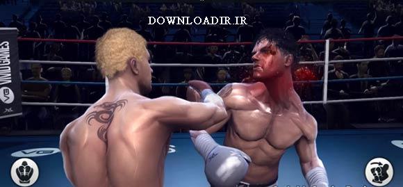 دانلود بازی بوکس برای اندروید real boxing
