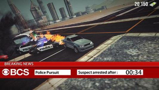 بازی ماشین سواری دزد و پلیس اندروید - THIEF VS POLICE