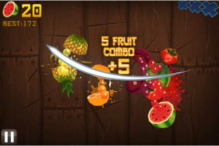 دانلود بازی fruit ninja اندروید