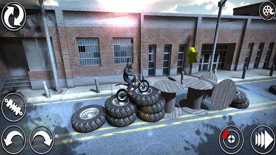 دانلود بازی موتور سواری جذاب Trial X Trials 3D HD v1.0.8 اندروید
