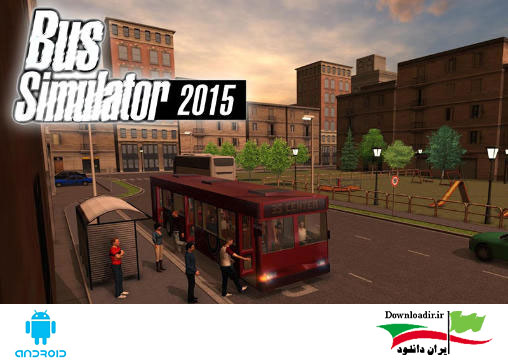 دانلود بازی شبیه ساز ۳ بعدی اتوبوس Bus Simulator 2015 v1.8.0 اندروید