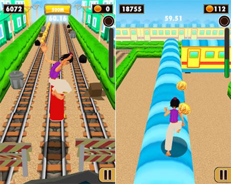 دانلود Subway Train Game 2015 - بازی دویدن در ایستگاه مترو برای اندروید
