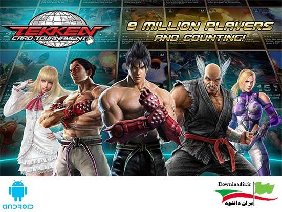 دانلود Tekken Card Tournament 3.114 – بازی تیکن اندروید