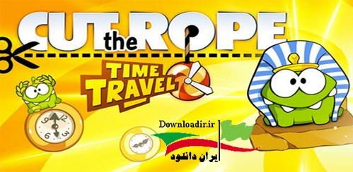 دانلود بازی طناب را ببر : زمان سفر Cut the Rope: Time Travel HD v1.4.3 اندروید