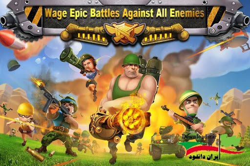 Battle Glory apk دانلود بازی