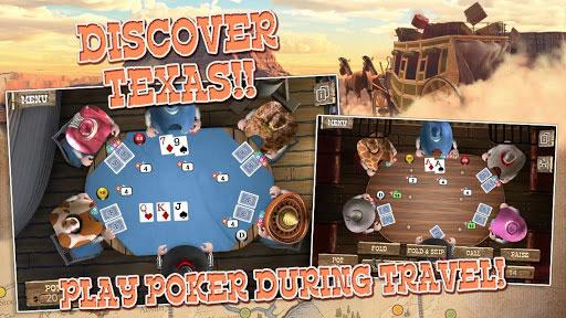 دانلود بازی فوق العاده زیبا پوکر Governor of Poker 2 Premium اندروید