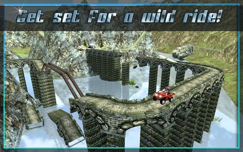 دانلود بازی موتور سواری جذاب و مهیج ۳D Quad Bike Offroad Stunts اندروید