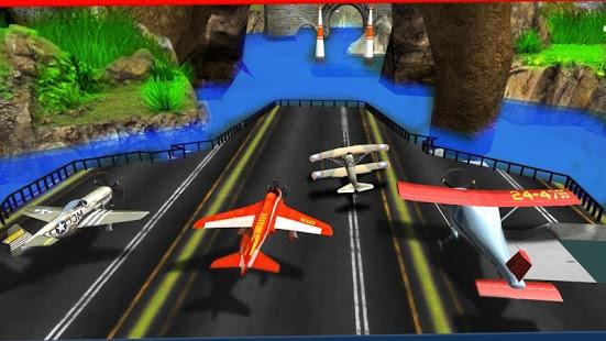 بازی مسابقات هوایی اندروید - Race The Planes