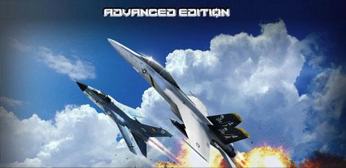 بازی هواپیمای جنگی پر هیجان اندروید - FoxOne Advanced Edition v2