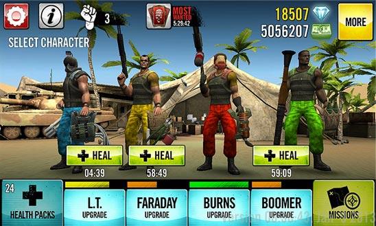 دانلود Guns 4 Hire - بازی 4 تفنگدار برای ویندوز فون