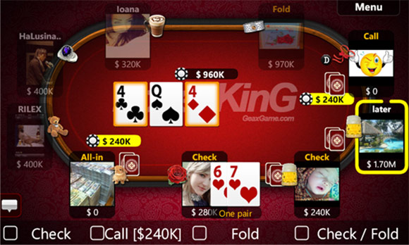 دانلود بازی پوکر ویندوز فون 2.0.0.0 Texas Holdem Poker