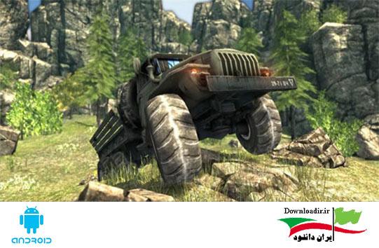 دانلود Truck Driver 3D: Offroad 1.3 بازی رانندگی ماشن سنگین برای اندروید