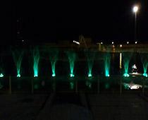 آبنمای هارمونیک پارک بزرگ شهر (یزد)