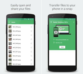 Portal – Wifi file transfers نرم افزار انتقال فایل توسط وای فای اندروید