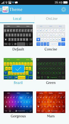 دانلود iKeyboard – emoji,emoticons